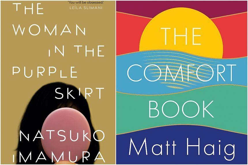 The Woman In The Purple Skirt by Natsuko Imamura and The Comfort Book by Matt Haig.