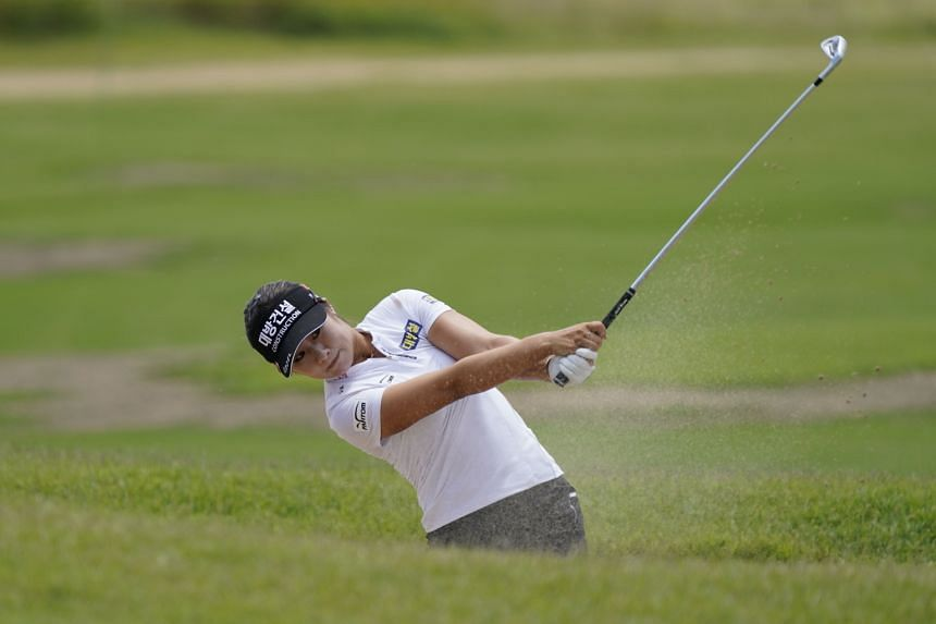 Lee6 Jeong-eun in Texas on July 5, 2021. The winner of the US Women's Open in 2019, Lee6 had 10 birdies and no bogeys on July 23.