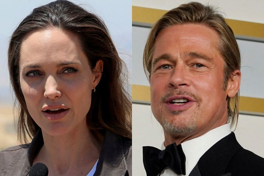 The ruling means the case between Jolie (left) and Pitt will essentially have to be restarted before a new judge.