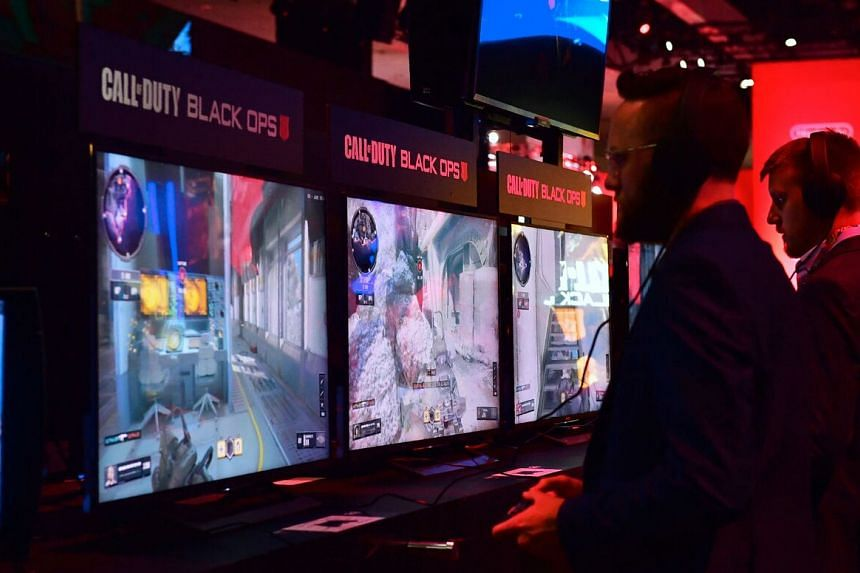 Video game giant Activision Blizzard produced the blockbuster game Call of Duty.