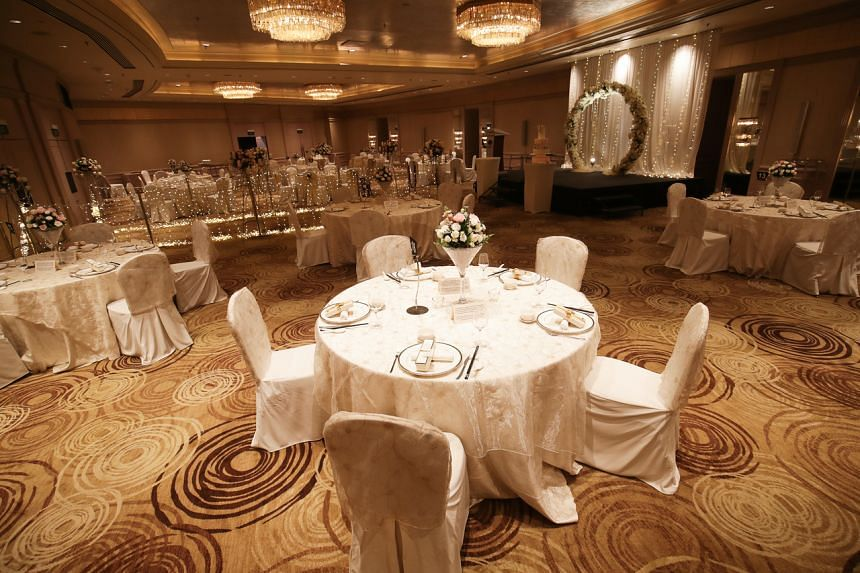 The authorities on July 20 announced a change in rules for wedding solemnisations and receptions.