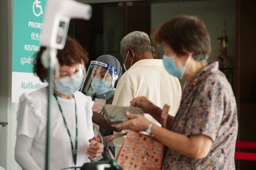 Those aged 70 and above are at high risk of becoming gravely ill when infected with Covid-19, but close to 30 per cent have yet to be vaccinated.