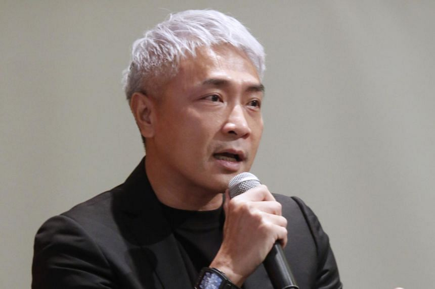 Mr Tay Ping Hui speaking at a public forum on race relations on July 24, 2021.
