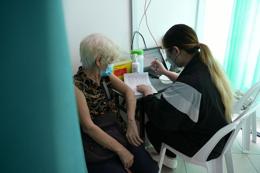 In Singapore, seniors aged 70 and above have a vaccine take-up rate of about 70 per cent, it was reported on July 19, 2021.