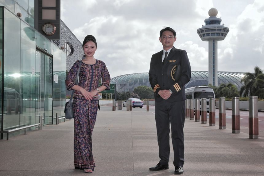 SIA flight stewardess Chloe Phang and pilot Eugene Tui took up a temporary role in June 2020 and returned to flying in January 2021.