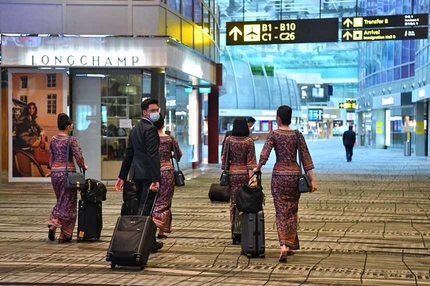 About 6,500 cabin crew, or eight in 10, are doing at least one flight a month.