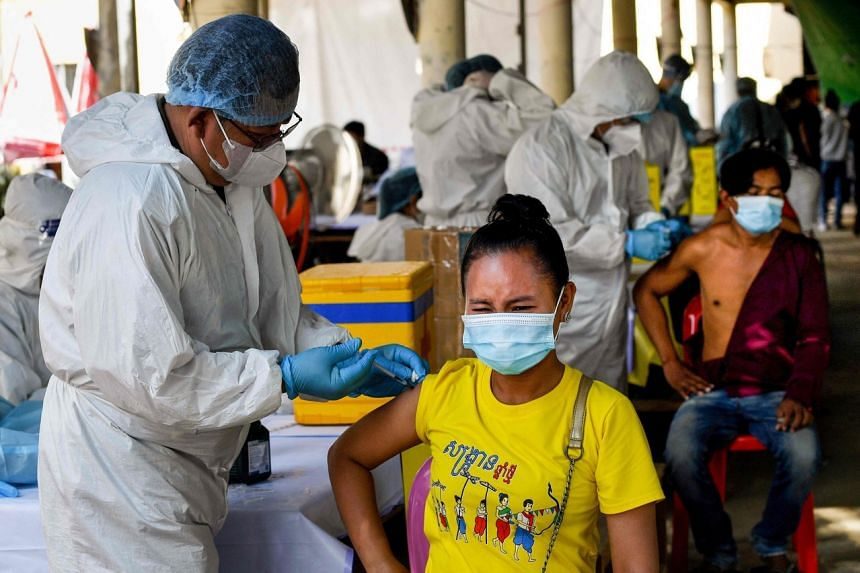 Cambodia's vaccination programme has been praised for reaching 6.3 million of the country's 16 million people.