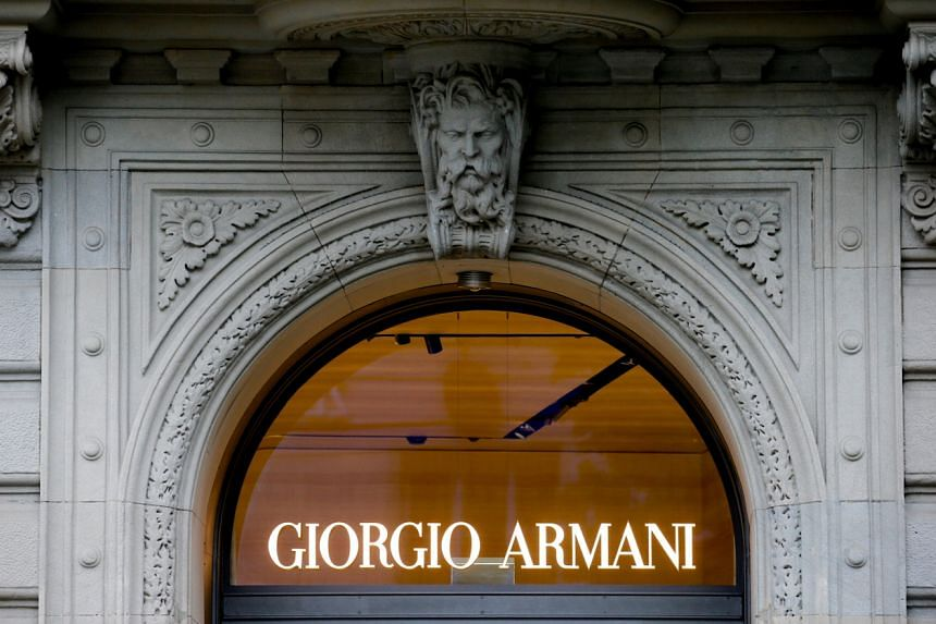 Giorgio Armani said its consolidated net sales had fallen 25 per cent last year to €1.6 billion (S$2.56 billion).