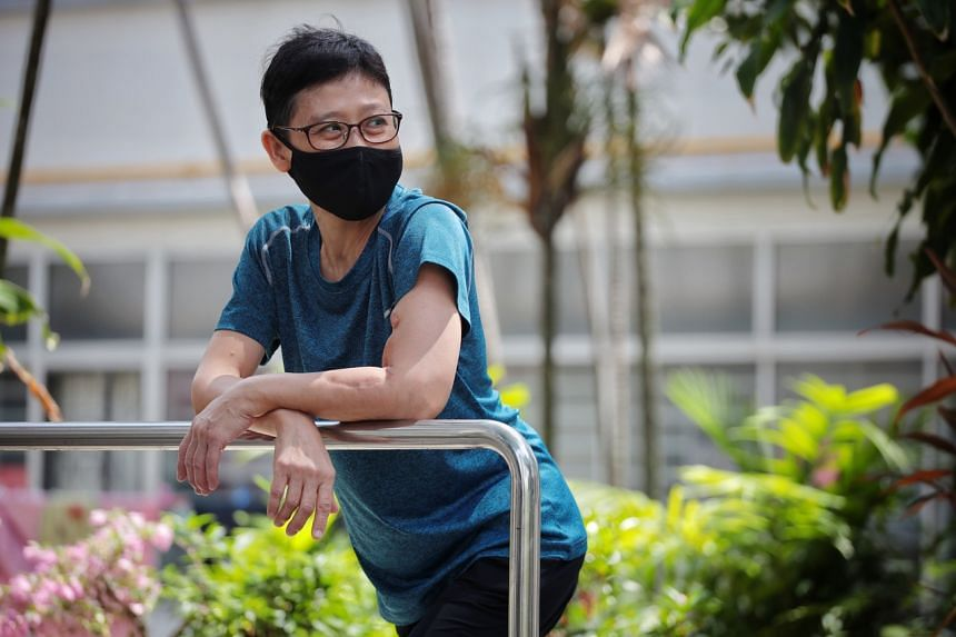 Madam Ong Bee Ai felt like her life had collapsed when she found out in 2016 that she had IgA nephropathy.