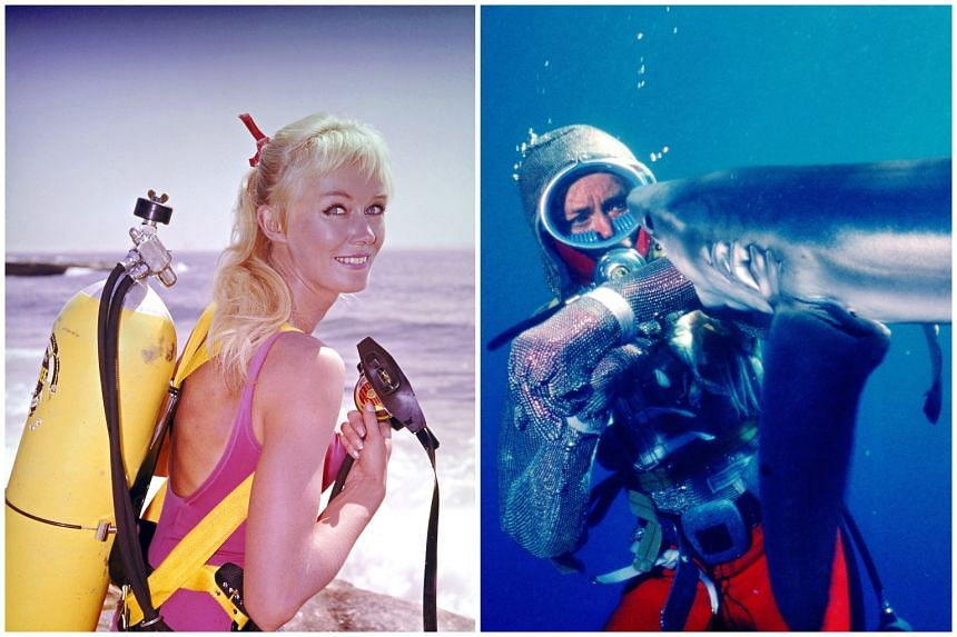 Playing With Sharks chronicles marine conservationist Valerie Taylor's lifelong fascination with sharks.