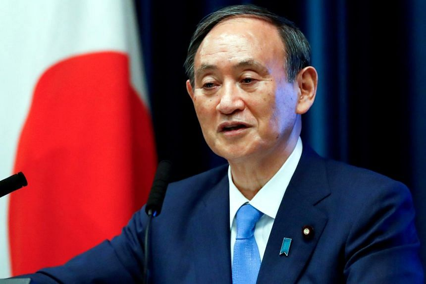 Japanese Prime Minister Yoshihide Suga came in fifth in the Nikkei's survey of preferred next prime ministers.