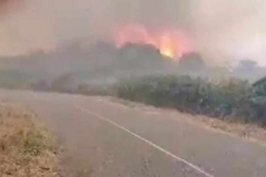As many as 1,200 people have been evacuated from their homes.