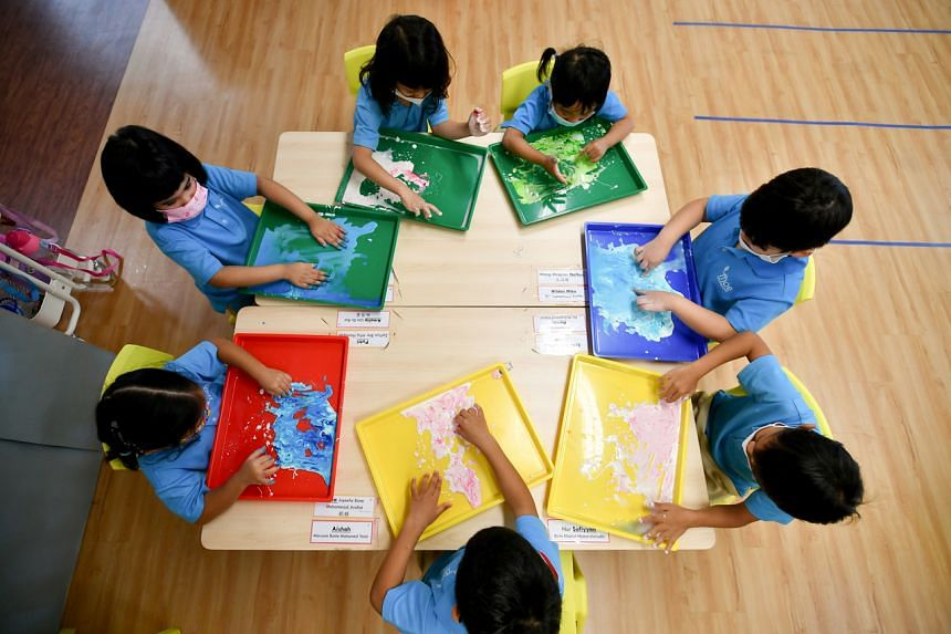 There are now 36 MOE Kindergartens, most of which are located within the premises of a primary school.