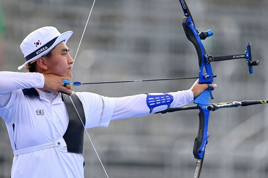 South Korea's Kim Je-deok won his second gold medal on July 26, 2021.