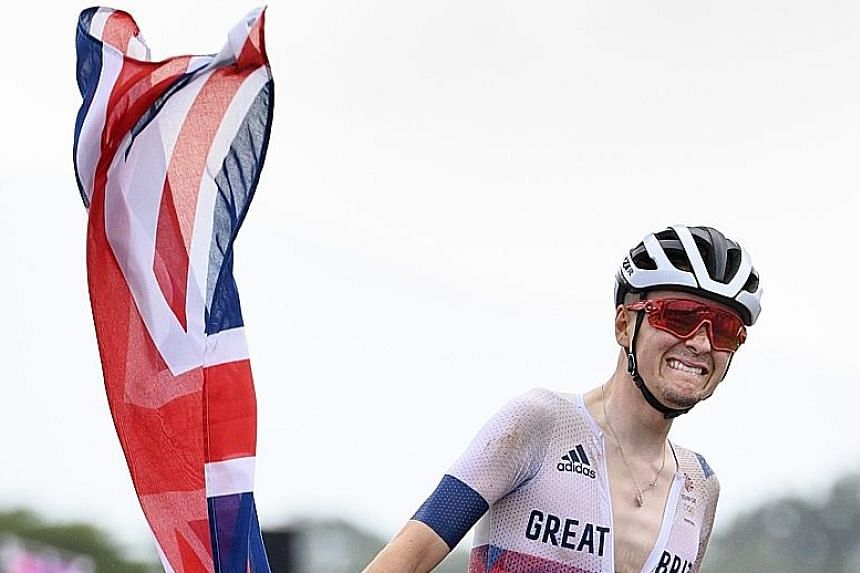 Briton Tom Pidcock became the youngest Olympic mountain bike champion in history.