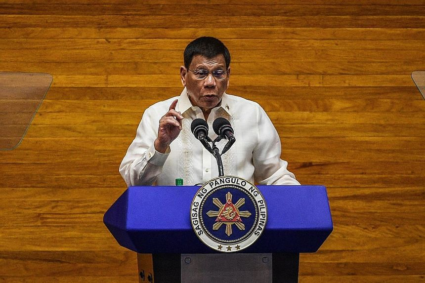 President Rodrigo Duterte, who will step down next June, speaking during his final State of the Nation Address yesterday. Among other things, he elaborated on key reforms and changes he made.