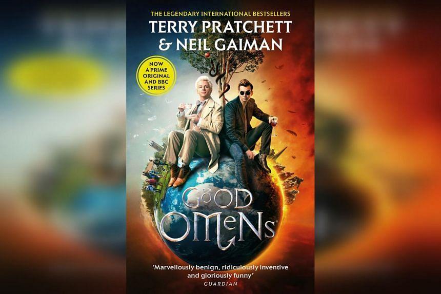 Good Omens by Terry Pratchett and Neil Gaiman.