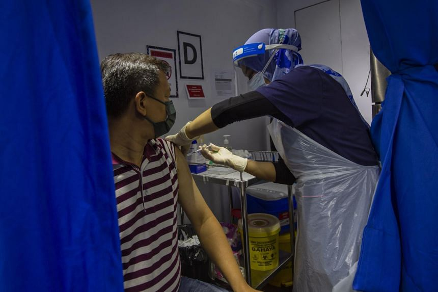 Malaysia has so far vaccinated around 37 per cent of the population with one dose.