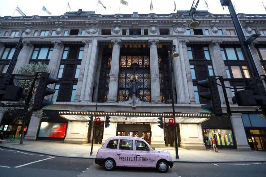 Selfridges' flagship store is on London's Oxford Street.