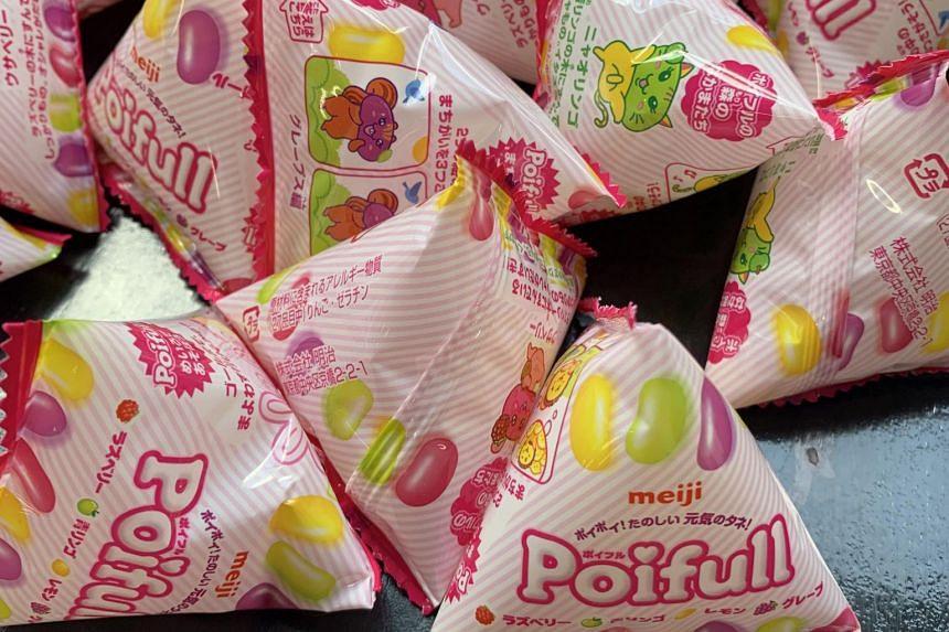 The Poifull jellybeans.