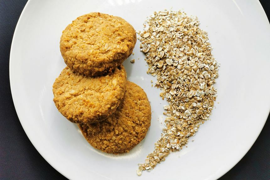Healthier oat cookies with a low glycaemic index.