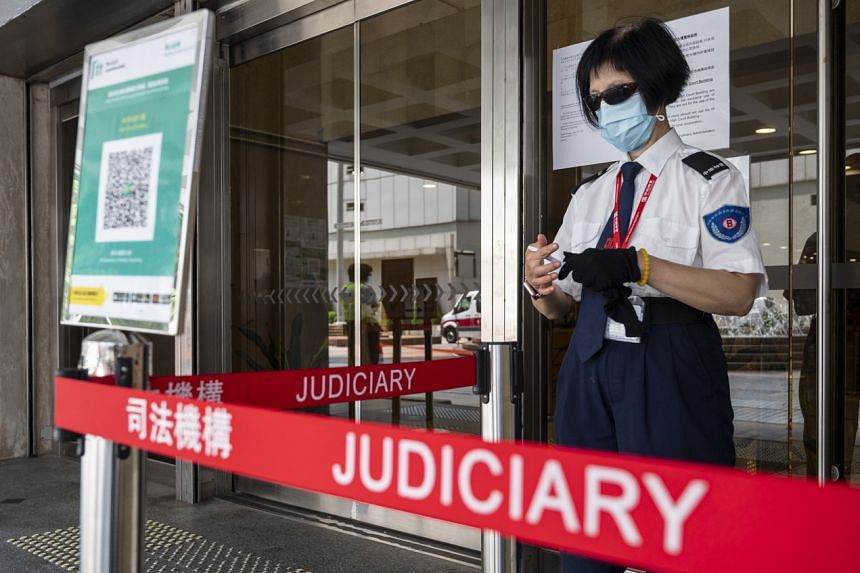 On Tuesday, a Hong Kong court handed down guilty verdicts in the first trial under the national security law.