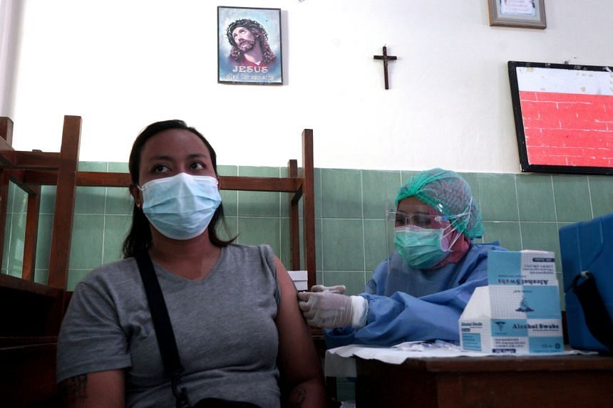 Indonesia is making the consideration as a study showed antibodies provided by the two-dose shot from Sinovac fade over time.