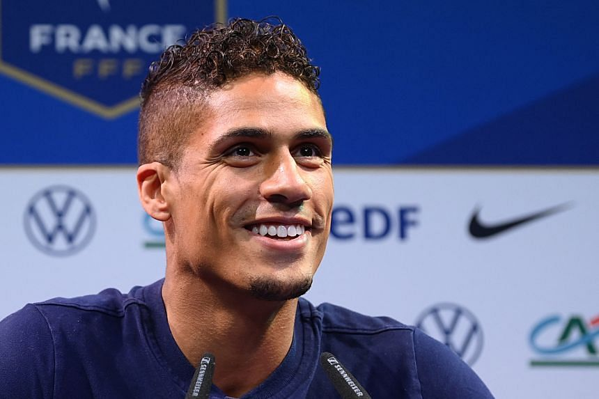Raphael Varane from Real Madrid has signed to Manchester United for an initial £34 million (S$63.8 million).