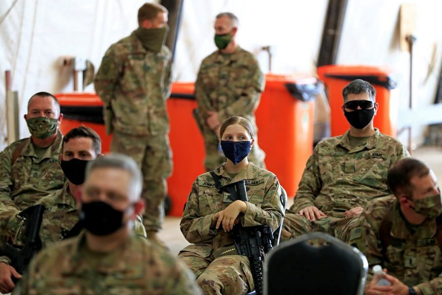 US troops would continue to provide training and assistance to the Iraqi military.