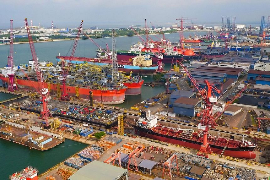 The marine and offshore engineering industry - which includes shipbuilding and repair, rig building and marine equipment - accounted for $3.6 billion, or 1 per cent, of Singapore's gross domestic product, and employed more than 23,000 people in 2016.