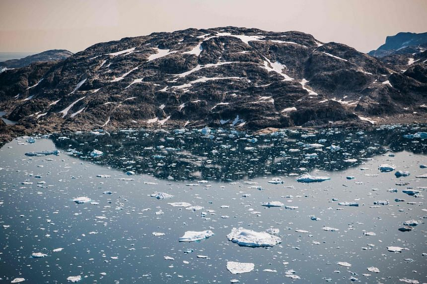 Greenland and Antarctica both recently showed all-time low levels of ice mass.