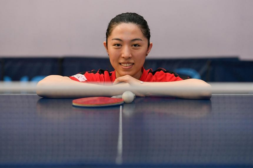 Yu Mengyu faces China's top-ranked paddler Chen Meng in the semi-finals on July 29, 2021.