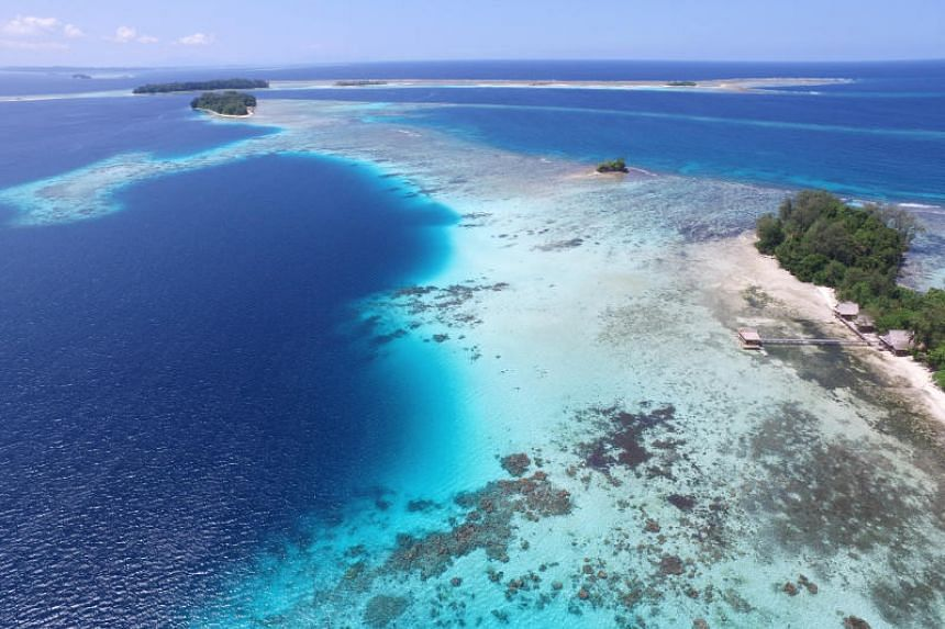 The Solomon Islands in the South Pacific signed an agreement in 2019 to allow a Chinese state-owned company to use the entire island for an extended time, but was later pressured to cancel the agreement, says the paper.