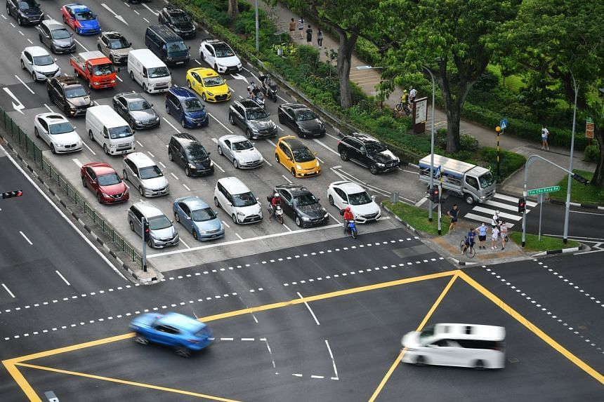Private cars make up the largest share of emissions by the transport sector in Singapore.