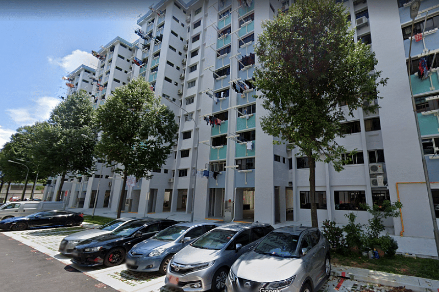 The blocks identified were 438 Ang Mo Kio Avenue 10 (pictured) and 430 and 445A Clementi Avenue 3.