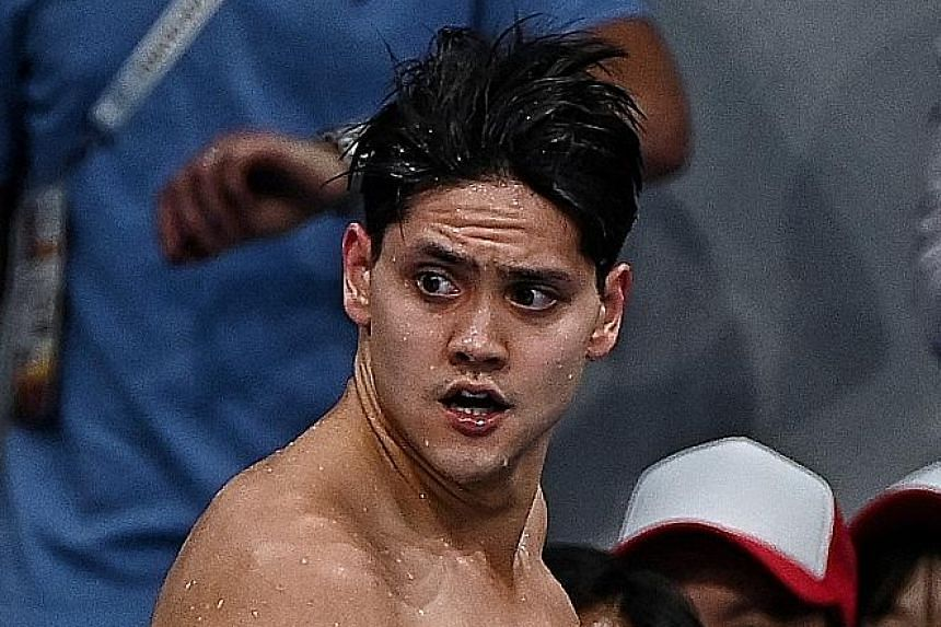 Joseph Schooling will be in lane 8 of Heat 5, which will begin at 6.54pm.