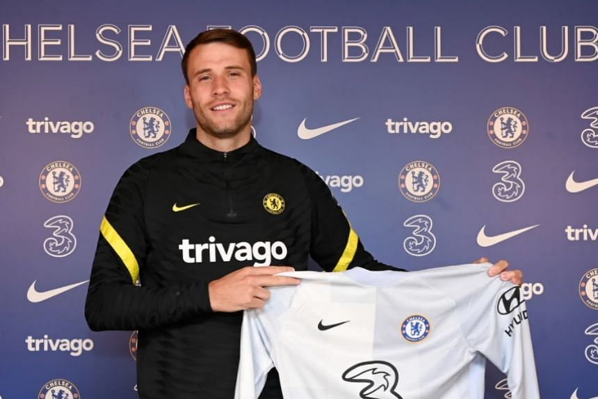 Bettinelli (above) left Fulham at the end of last season and has now agreed a two-year deal at Stamford Bridge.