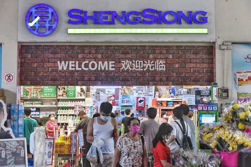 Sheng Siong noted in its outlook statement that third-quarter demand may be higher year on year.