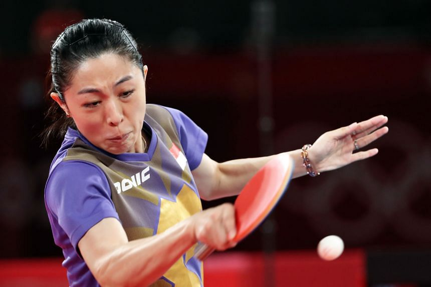 Yu Mengyu carried out her impressive run against Japan's world No. 2 Mima Ito while nursing an injury in her left thigh.