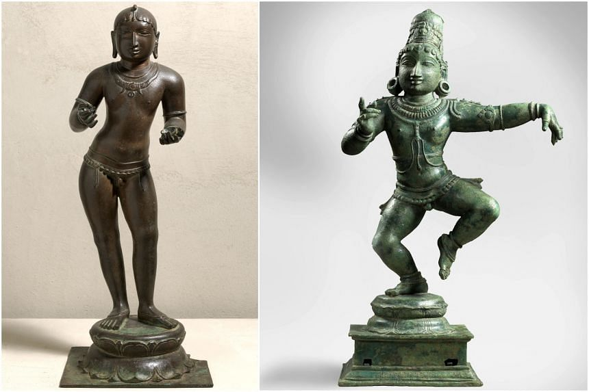 Australia will return 14 artworks to India, including at least six believed to have been stolen or illegally exported.