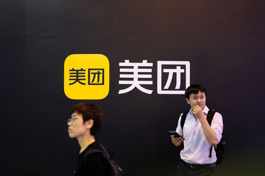 Top food delivery app Meituan's shares fell after regulators suddenly announced new worker protection rules this week.
