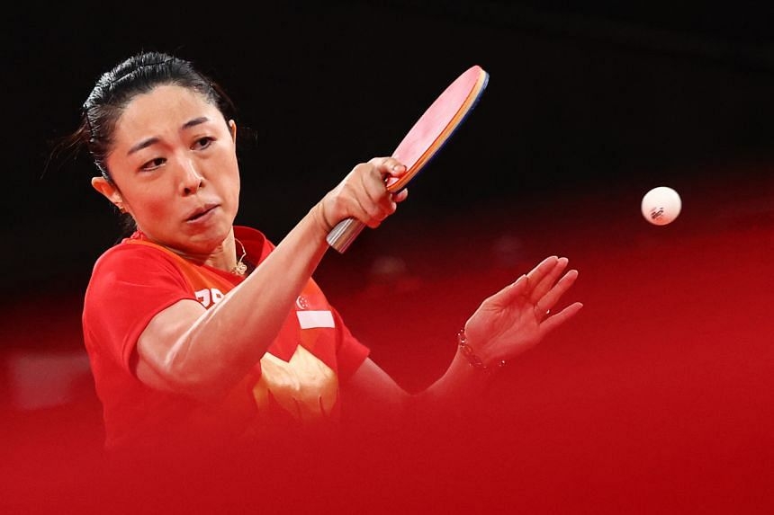 Yu Mengyu next faces either Japan's world No. 2 Mima Ito or China's world No. 3 Sun Yingsha in the bronze medal play-off.