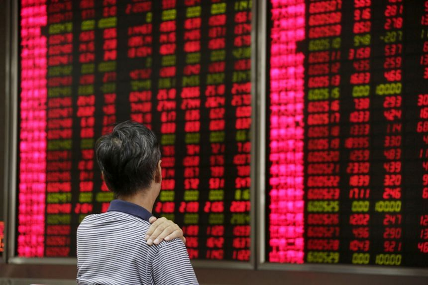 China's CSI 300 Index rebounded from early losses on Wednesday to close with a 0.2 per cent gain.