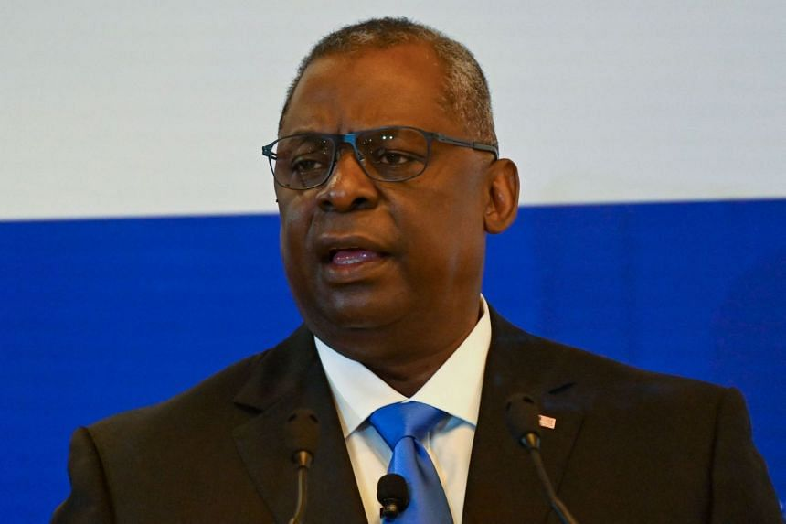 Lloyd Austin (above) will meet his Vietnamese counterpart along with Vietnam's president and prime minister.