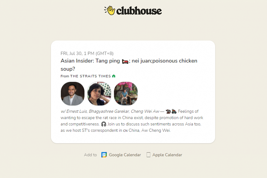In ST's Clubhouse session, titled Asian Insider: Tang ping, nei juan & poisonous chicken soup for the soul?, find out what these Chinese terms mean in relation to values.