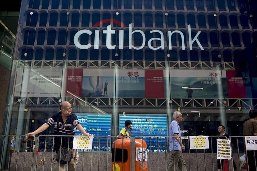 A Citi branch in Hong Kong. The US bank has added several hundred wealth professionals in Hong Kong and Singapore, as part of its plan to hire 2,300 staff in the Asia-Pacific to grow client assets by US$150 billion by 2025.