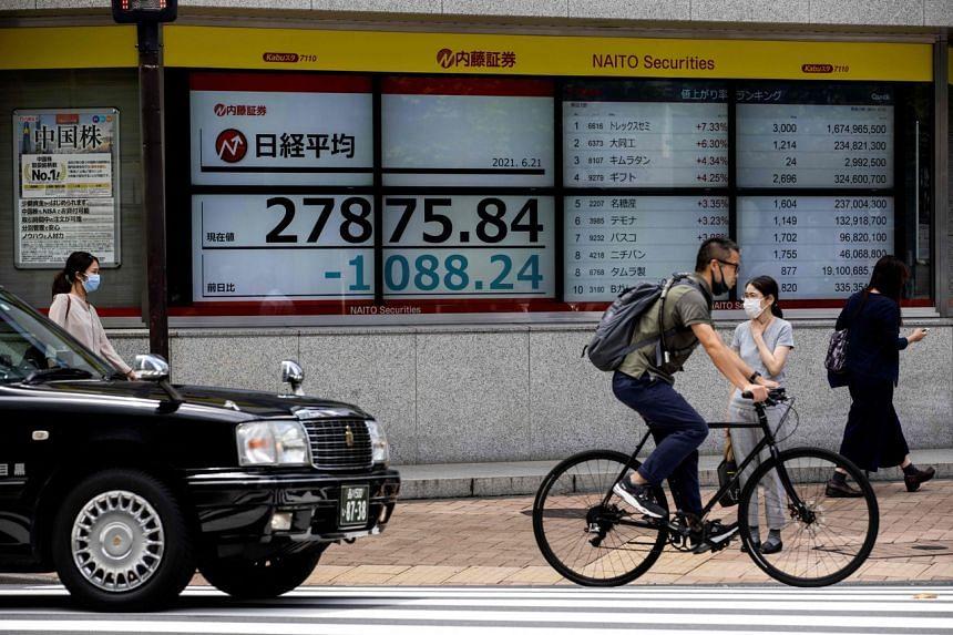 Japan's Nikkei dipped 1.71 per cent.