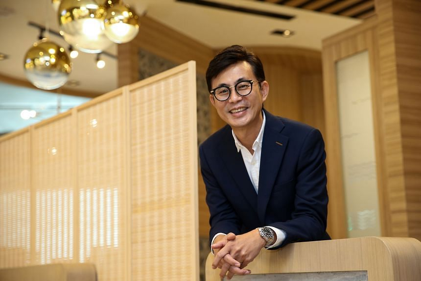 Alan Wah, CEO of White Restaurant. White Restaurant is a traditional enterprise that started 22 years ago as a coffee shop.