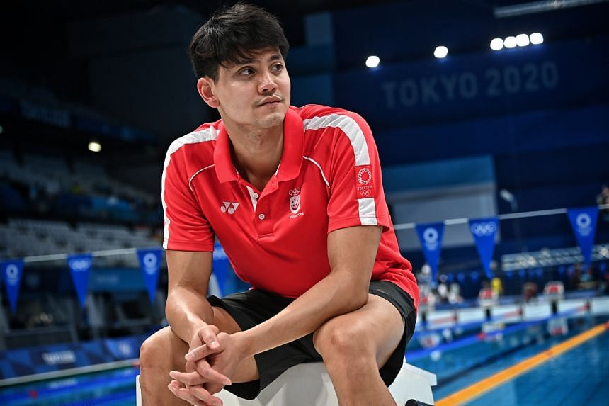 """Joseph Schooling said he has been moved by the reaction on social media, noting there has been a lot of """"empathy"""" shown to him by Singaporeans."""