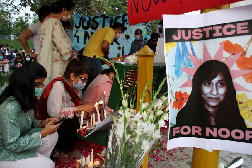 Ms Noor Mukadam was found beheaded in a posh neighbourhood of Islamabad on July 20, 2021.